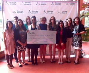 Junior Achievement of Northern Alberta & NWT accepted The Ron Kruhlak Youth Award