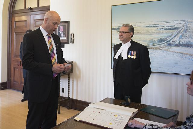 Alberta Party leader Greg Clark