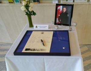 Condolences for Const Dan Woodall