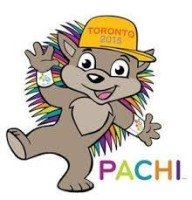 Pachi - mascot Toronto Pan Am Games
