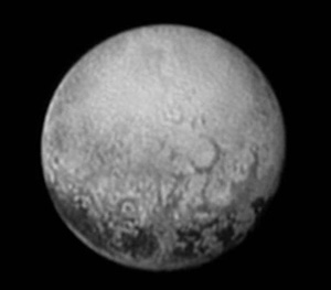 Photo taken by New Horizons on July 11 when the spacecraft was 4 million kilometres away from Pluto (Credit: NASA/JHUAPL/SWRI)