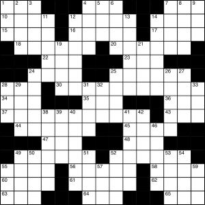 2015-11-28 Crossword puzzle