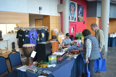 Gear Music in Oakville attended the eighth Music Care Conference as the on-site music store. Rebecca Bartlett/Room 217 Foundation
