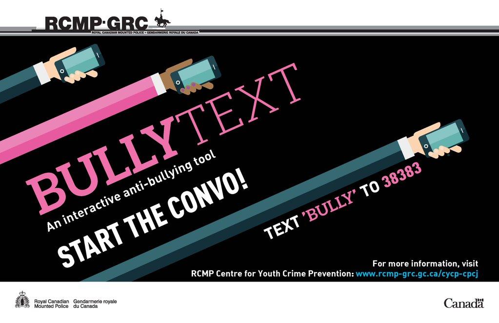 RCMP Bully Text