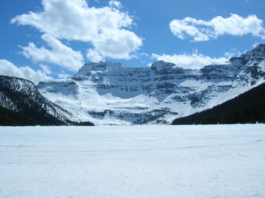 Cameron Lake - frozen