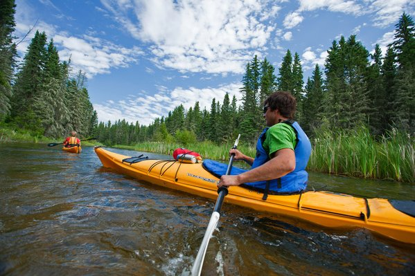 Kayaking in Canadas National Parks