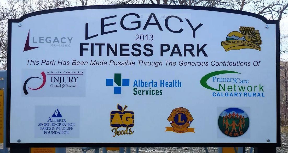 Legacy Park sign