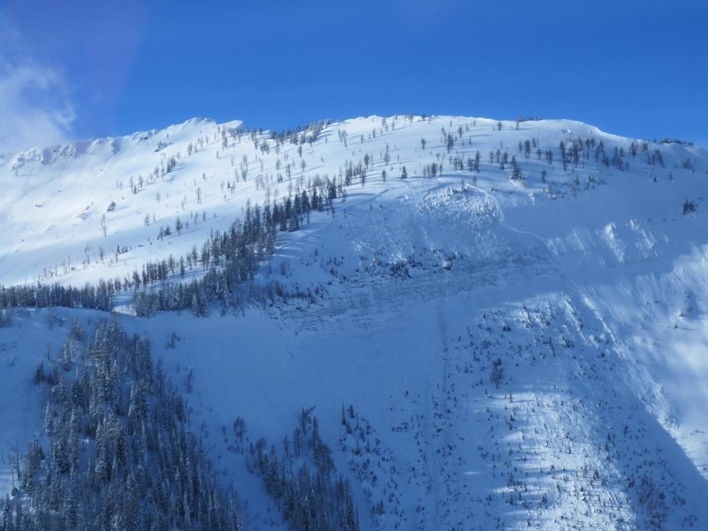 Avalanches Kootenay