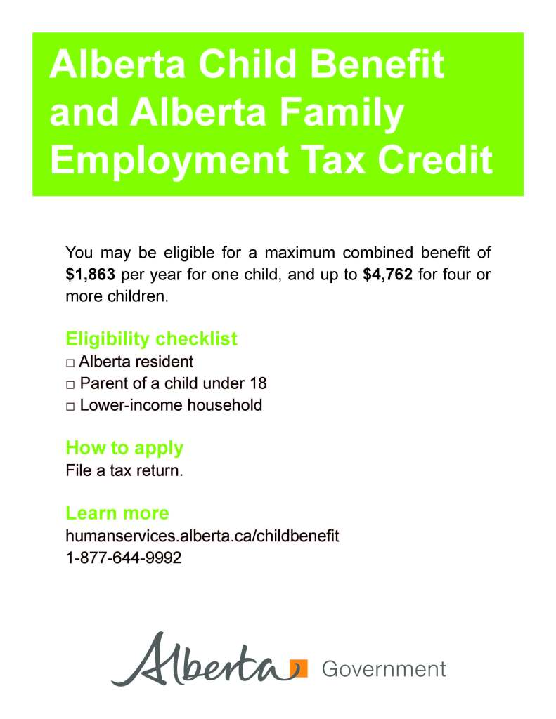 Info_Poster AB Child Tax Credit
