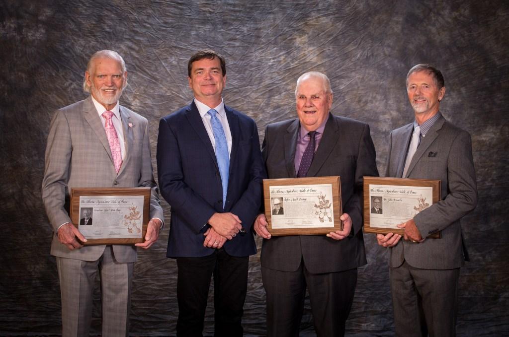 Cor Van Raay, Minister Carlier, Bob Prestage, Dr. John Kennelly