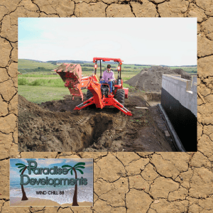 Need to Excavate? Call Paradise Developments