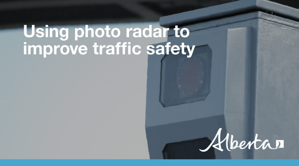 Temporary Freeze on New Photo Radar Equipment