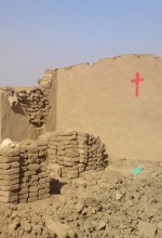 A Sudan Pentecostal Church building the government bulldozed earlier this year.