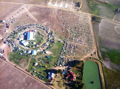 An aerial view of next year's MMC WC venue.
