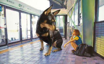 me and my big dog