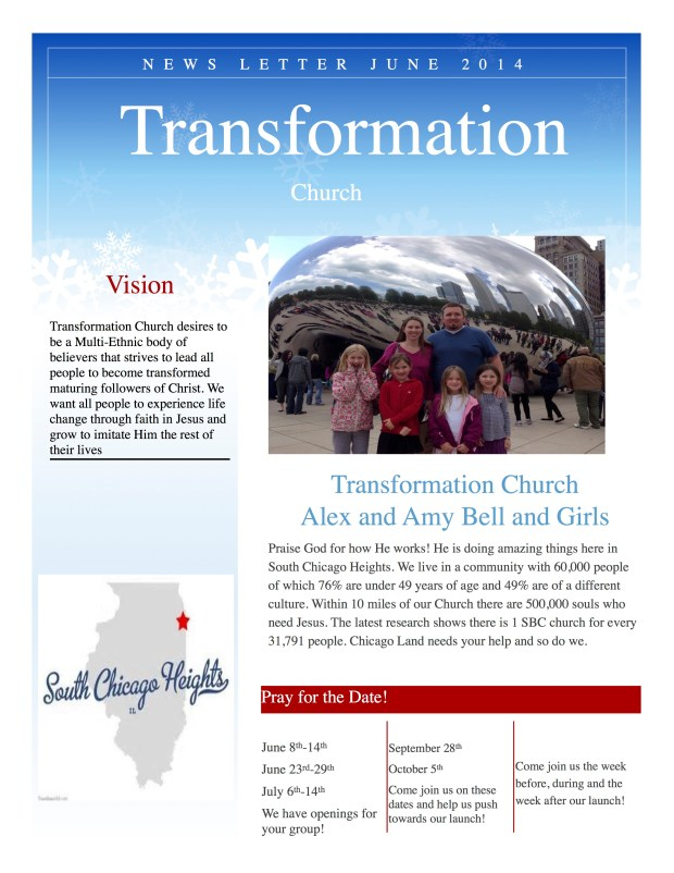 newsletter transformation