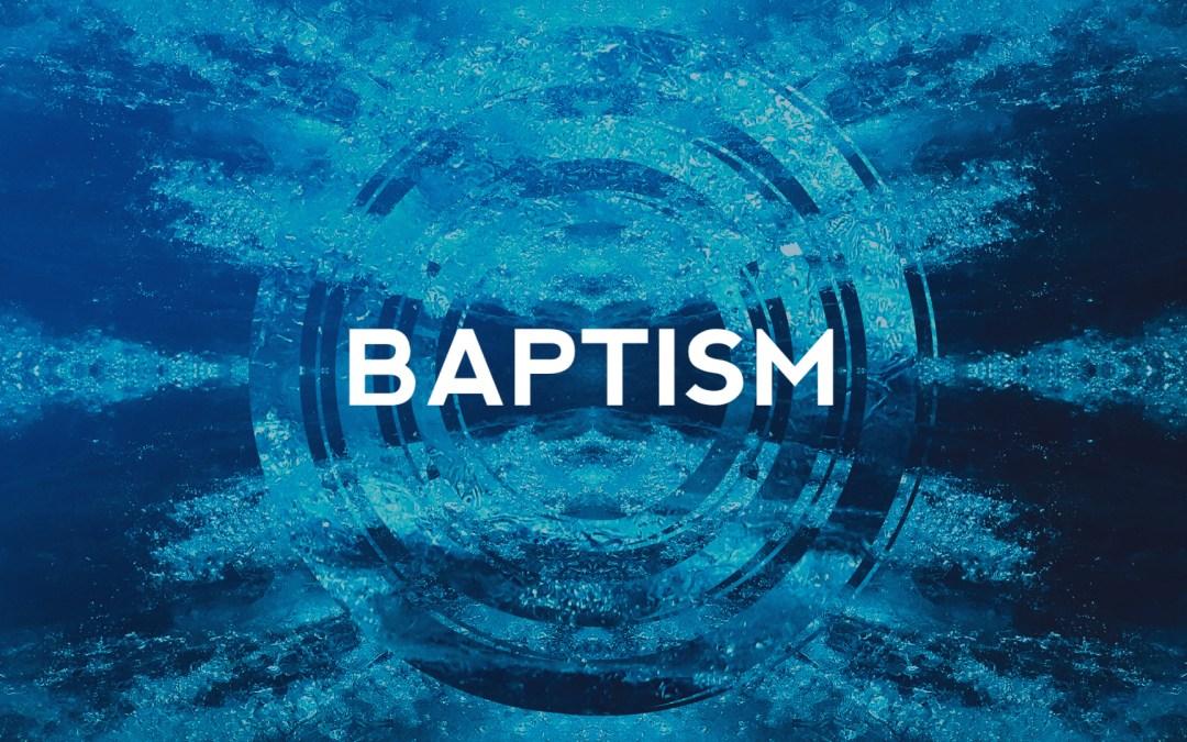 Baptism at Atoka