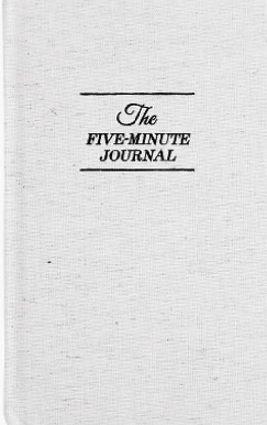 Gratitude & Intention Setting: The 5-Minute Journal