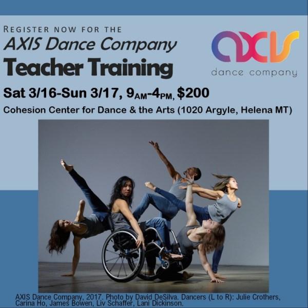 Axis Dance Company Training 03 16 2019 Helena Montana