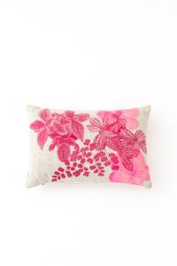 Winter Floral Pillow - Gathered Home