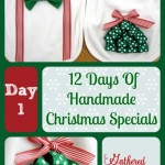 12 Days Of Handmade Christmas Specials: Day 1 – Christmas Bibs