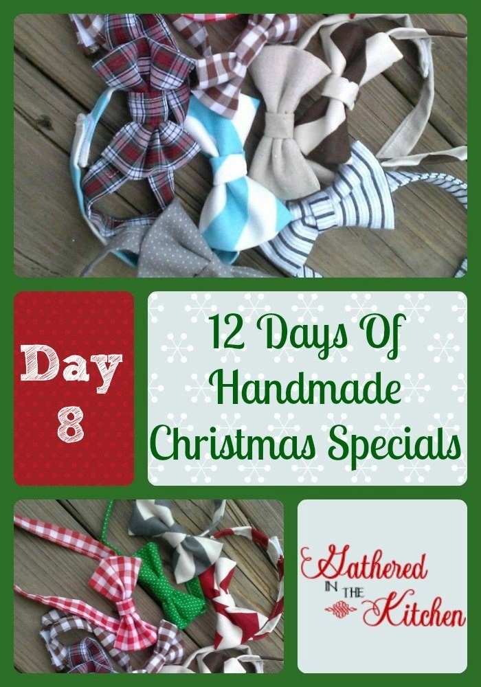 12 Days Of Handmade Christmas Specials Day 8 Bowties