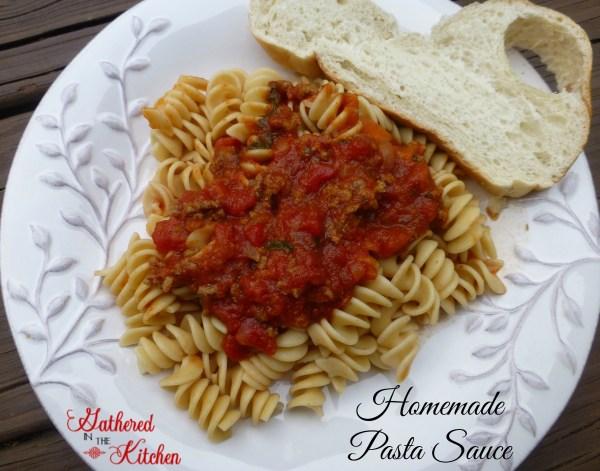 how to make homemade italian spaghetti sauce with fresh tomatoes