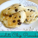 Homemade Chocolate Chip Pancakes