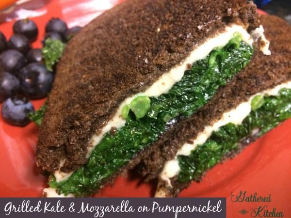 grilled kale
