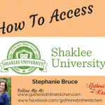 Protected: How To Access Shaklee University