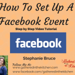 Protected: How to set up a Facebook Event: Step by Step Video