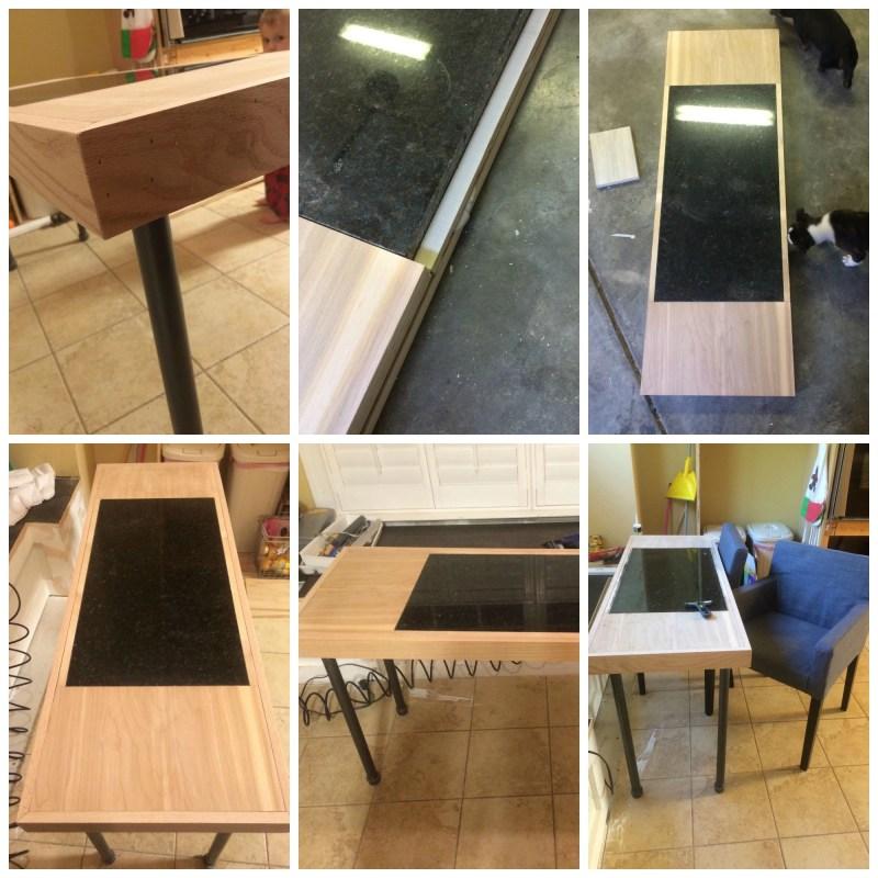 DIY Pipe Leg Table
