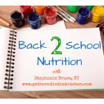 Back to School Nutrition for Kids