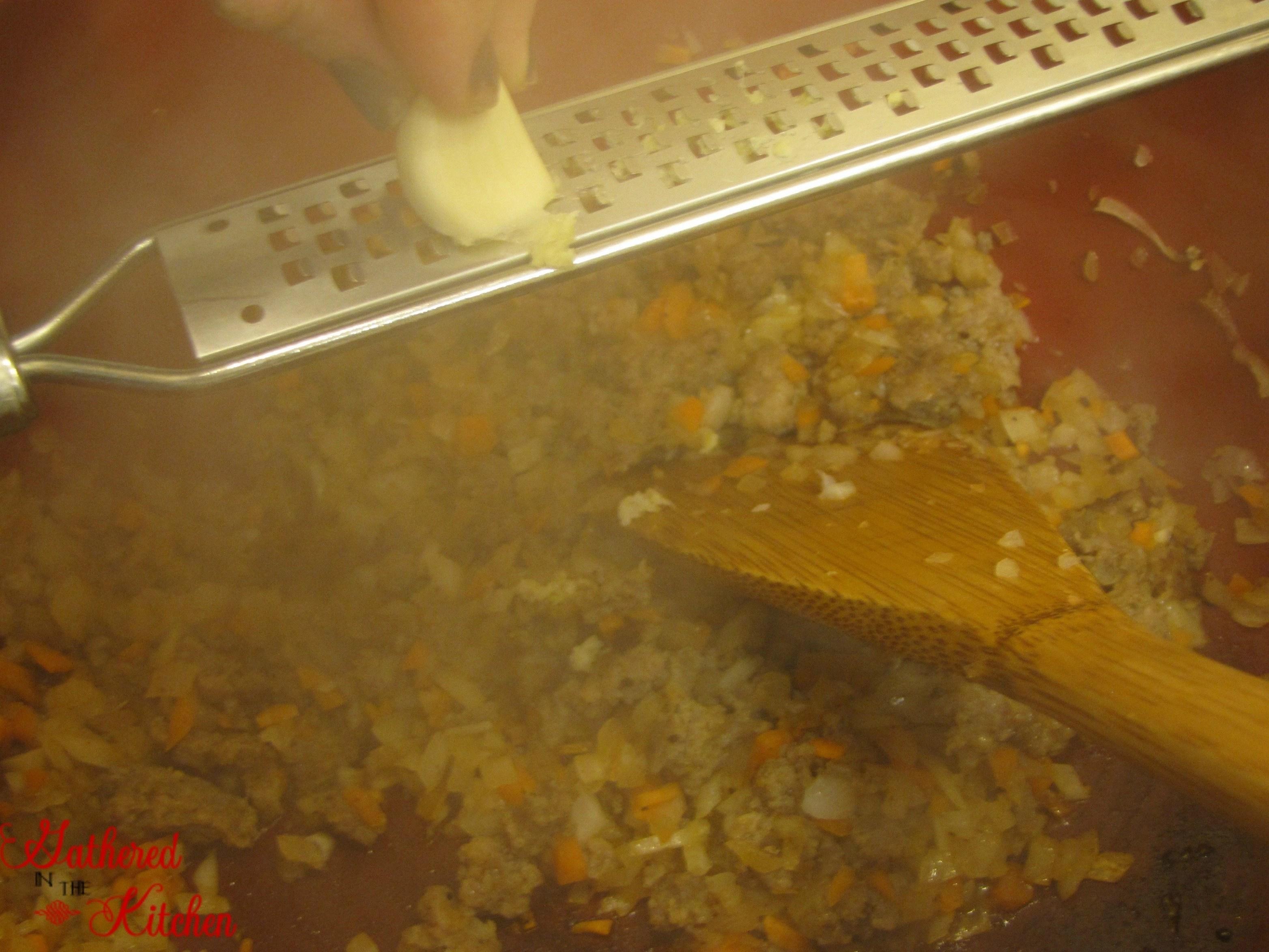 homemade spaghetti sauce - 6