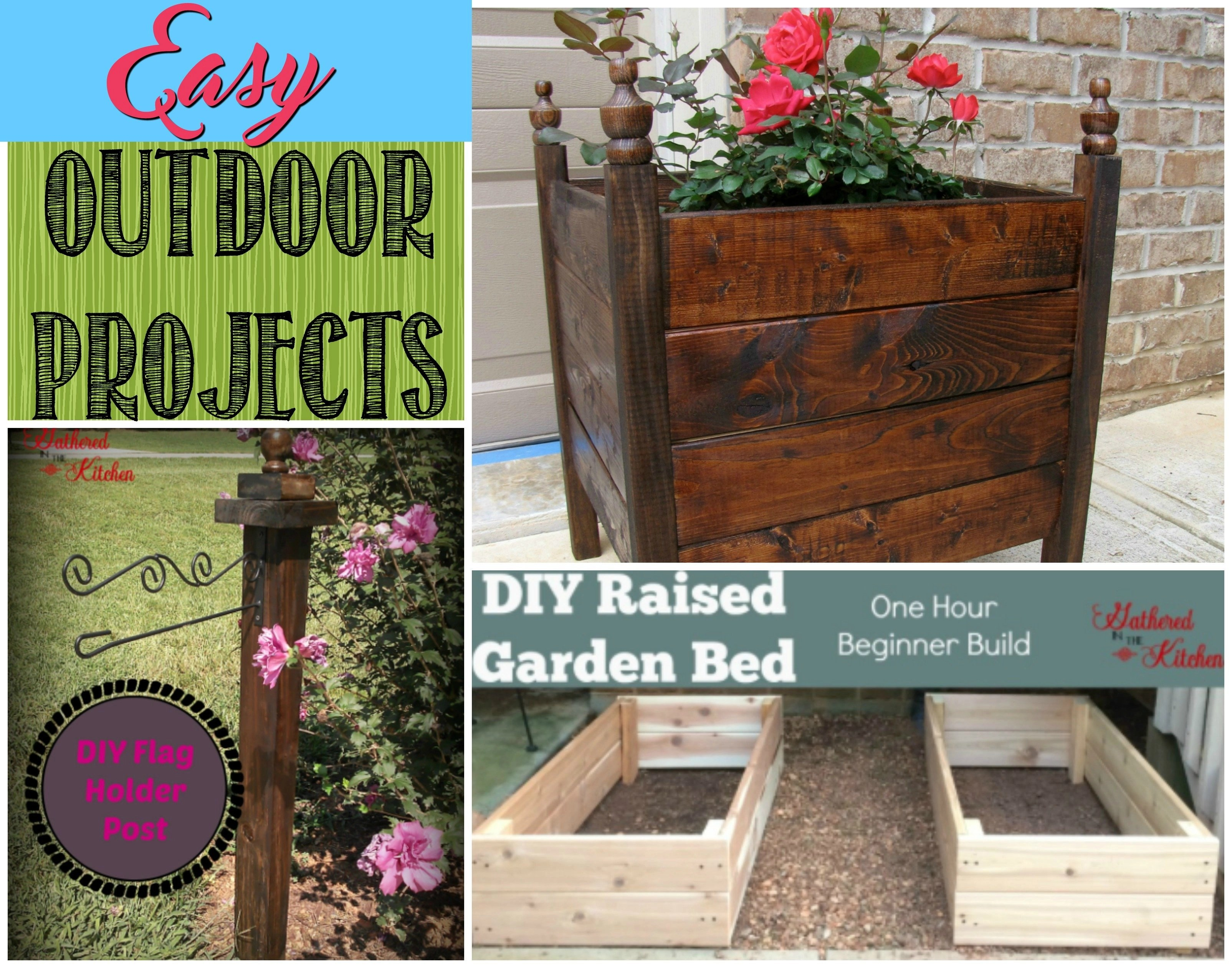 Easy Outdoor Projects Collage