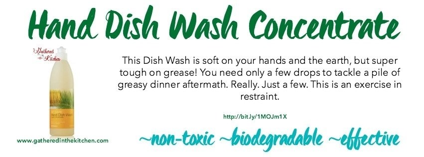hand dish wash concentrate