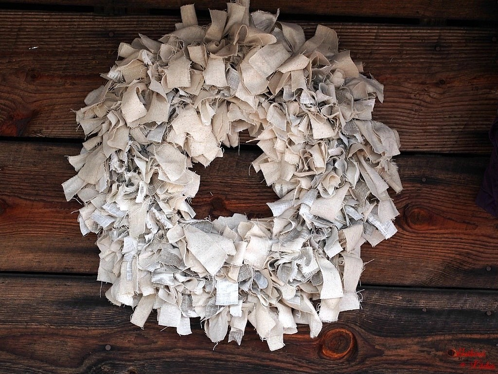 Diy Rag Wreath Tutorial Beginner Level Project Amp Costs