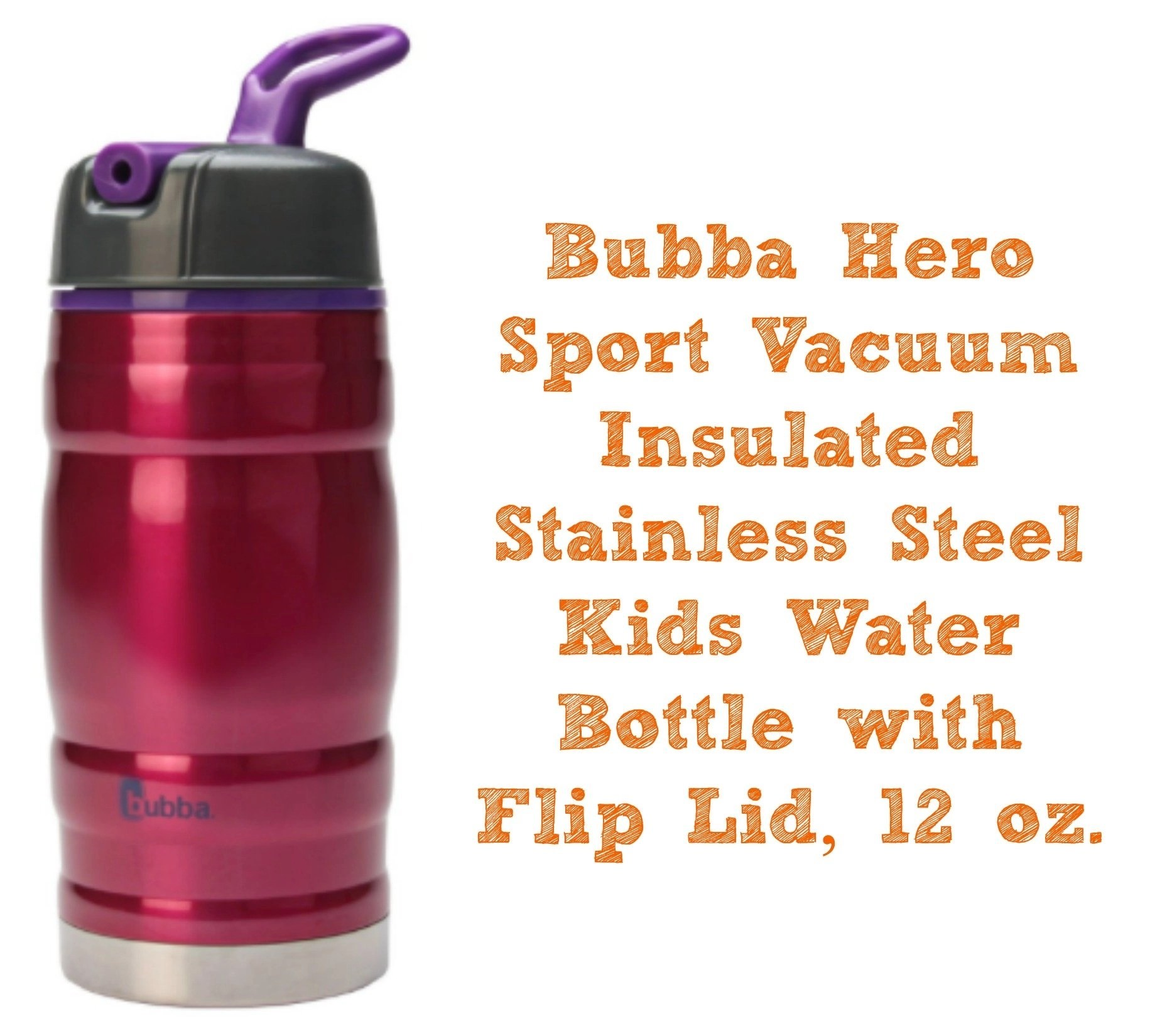 bubba-hero-sport-vacuum-insulated-stainless-steel-kids-water-bottle-with-flip-lid-12-oz