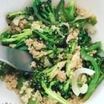 Quinoa Veggie Bowl
