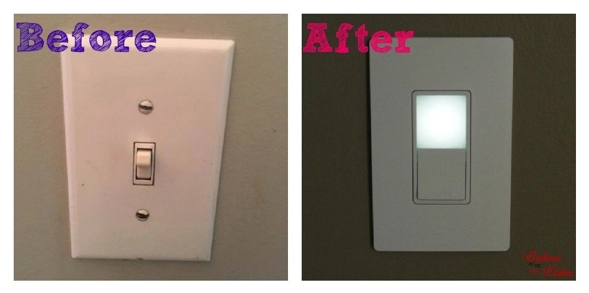 How to Install a Night Light Electrical Switch - Gathered In The Kitchen
