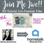 Live Video Crafting Tutorial TOMORROW + FREEBIE!