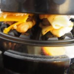 Back-To-School Grab-N-Go Croissant Waffle Breakfast Sandwiches