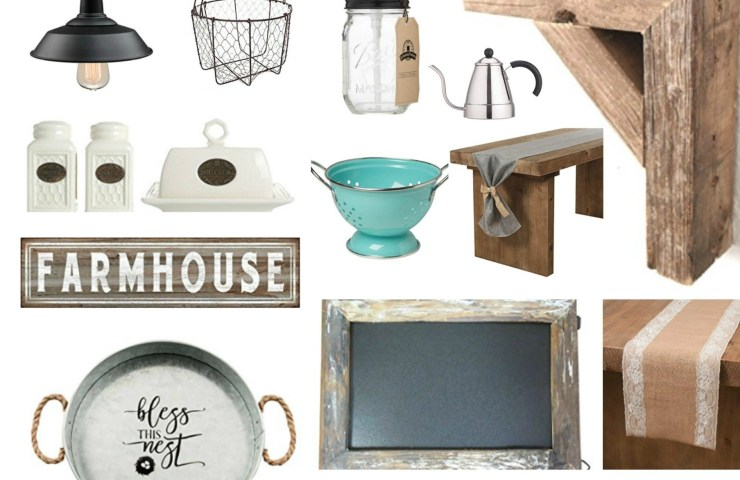 Kitchen Farmhouse Decor Under $20 on Amazon