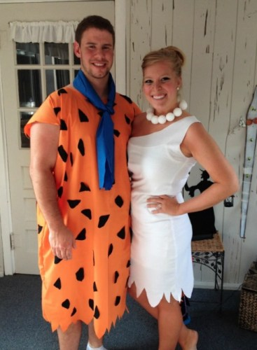 Couples Halloween Costumes: Fred & Wilma
