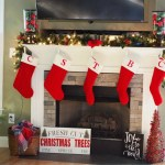 Christmas Tree, Mantel & Stockings