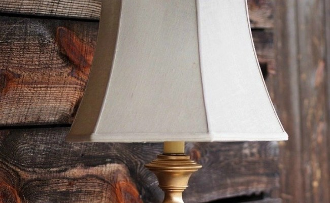 Diy Rubbed Gold Thrift Store Lamp Makeover Rub N Buff