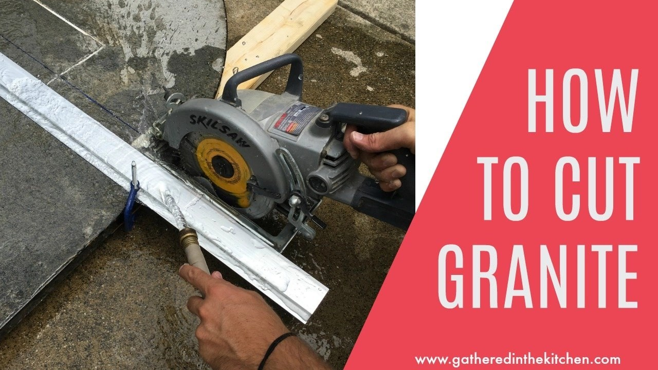 How To Cut Granite Countertops Gathered In The Kitchen