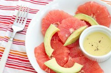 Avocado and Grapefruit Salad adapted from The Food Network