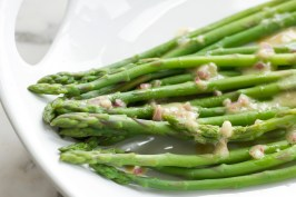 Lemon Asparagus adapted from Real Simple