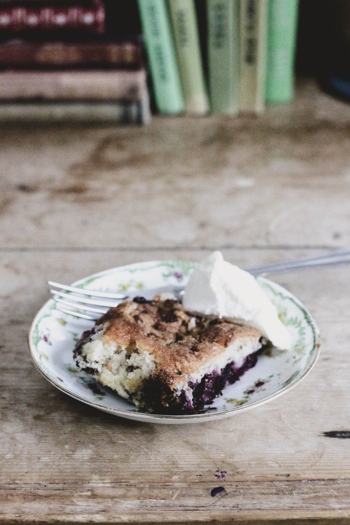 Blackberry Cobbler. An Autumn Recipe.